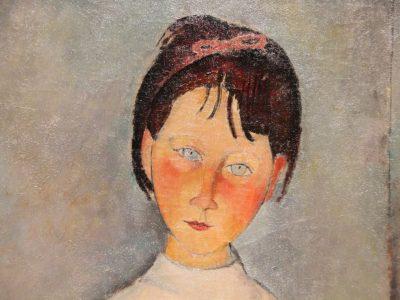 Amedeo Modigliani, Fillette en bleu, 1918, Collezione Jonas Netter