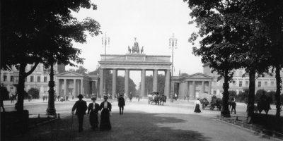Brandenburger Tor nei primi del '900 © il Deutsch-Italia