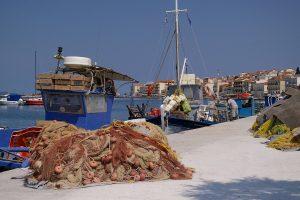 Villaggio di pescatori a Samos