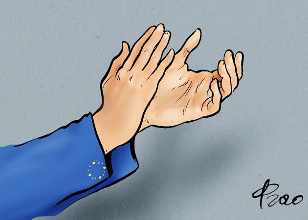 Europas helfende Hände