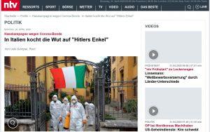 """L'articolo pubblicato da """"NTV"""""""