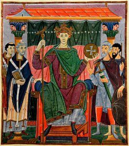 Otto III © Bayerische Staatsbibliothek Wikipedia