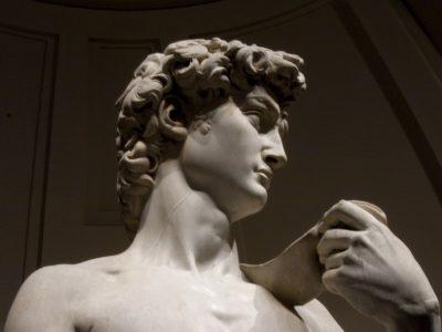 Il David di Michelangelo @ Galleria dell'Accademia di Firenze