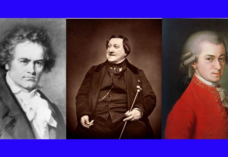 Beethoven Rossini Mozart © il Deutsch-Italia