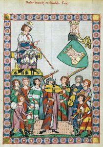 Codex Manesse Heinrich von Meiße
