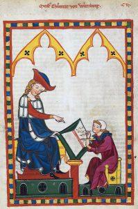 Codex Manesse - Konrad von Würzburg