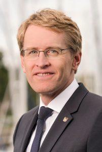 Daniel Günther © CC BY-SA 4.0 Staatskanzlei Schleswig-Holstein WC