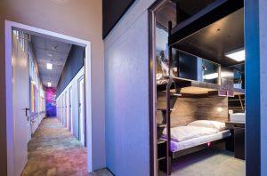 Hotel senza finestre © Boxhotel Kay Herschlmann