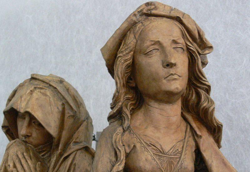 Riemenschneider Trauernde Frauen crop © CC BY-SA 1.0 Landesmuseum Württemberg Stuttgart