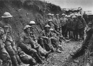 Soldati irlandesi nel luglio 1916