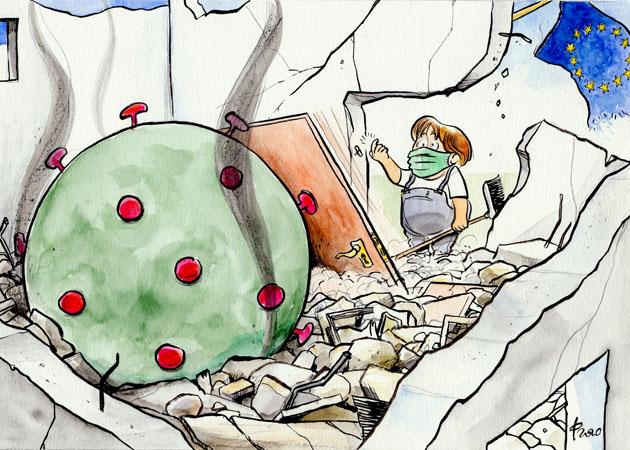 Trümmerfrau
