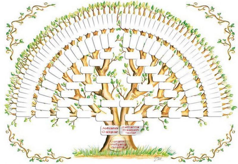 Albero genealogico Goethe