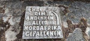 Il monumento a Rommel © Mara Piras per il Deutsch-Italia