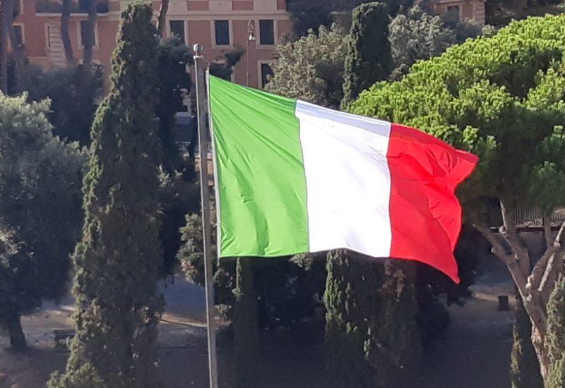 Bandiera italiana © il Deutsch-Italia