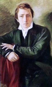 Heinrich Heine nel ritratto di Moritz Daniel Oppenheim