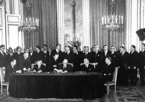 La firma del trattato dell'Eliseo © Bundesarkiv B 145 Bild-P106816 © CC BY-SA 3.0