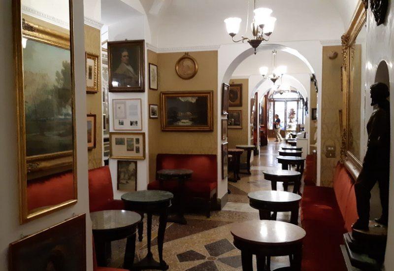 Il Caffè Greco a Roma © il Deutsch-Italia