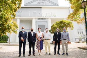 I curatori de Le muse inquiete © Andrea Avezzu per La Biennale di Venezia