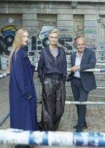 Gli organizzatori dello STUDIO BERLIN: Karen e Juliet Kothe, direttore della Boros Foundation © Max von Gumpenberg