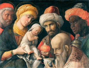 Andrea Mantegna - L'adorazione dei Magi