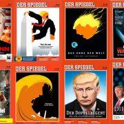 """Copertine di """"Der Spiegel"""" © Der Spiegel"""