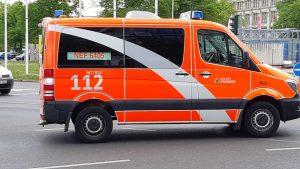 Un'ambulanza tedesca © il Deutsch-Italia