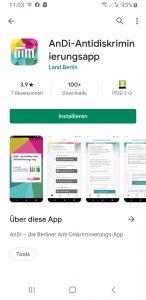 L'App anti-discriminazione