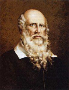 Friedrich Ludwig Jahn - litografia di Georg Ludwig Engelbach