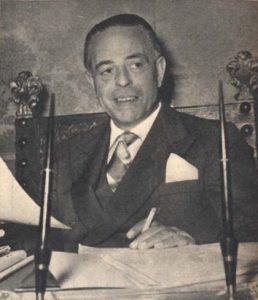 Gaetano Martino nel 1954