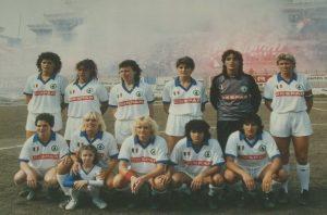 Il Despar Trani 80 campione d'Italia 1985-86 © Graziella Barba