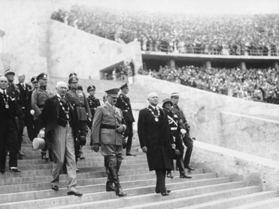 L'apertura delle Olimpiadi del '36 © Bundesarkiv B 183-G00372 © CC BY-SA 3.0