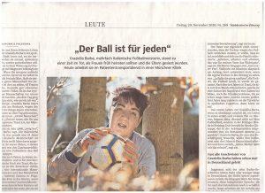 L'articolo di F. Polistina sulla Süddeutsche Zeitung