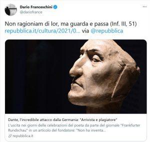 Il twitt di Franceschini