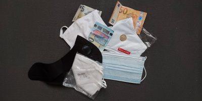 Mascherine e denaro © il Deutsch-Italia