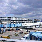 Aeroporto di Francoforte Terminal 1© CC BY-SA 3.0 Utilizator Arado, CC BY-SA 3.0 WC