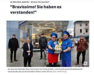 Il gelato di Lutero © Süddeutsche Zeitung