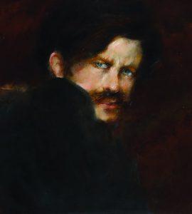 Balla Giacomo, Autoritratto, 1894 circa