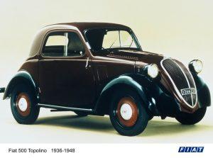 La Topolino © Fiat-Stellantis