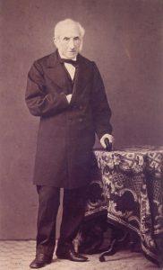 Alessandro Manzoni a 85anni nel 1870
