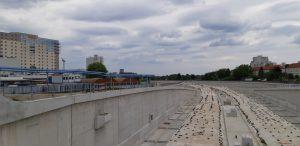 L'autostrada in costruzione di Berlino © il Deutsch-Italia